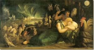 Dosso Dossi - Incubo notturno- Gemaldegalerie Dresda