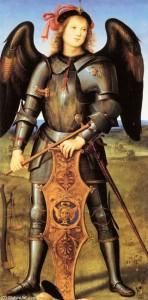 Perugino -lAarcangelo Michele